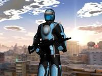 3d man soldier mercenary model