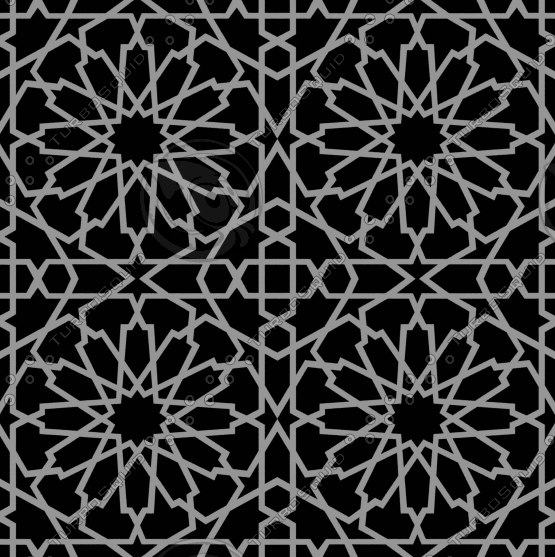 tileable decorative grid 3d 3ds