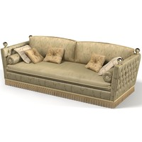 3d model jumbo classic sofa