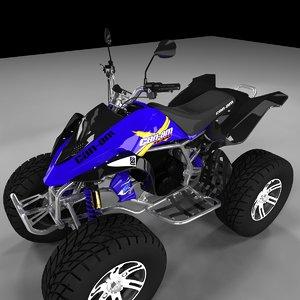 canam quad 3d model
