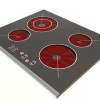 3d model electric cooker