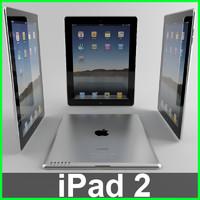 apple pad 2 3d max