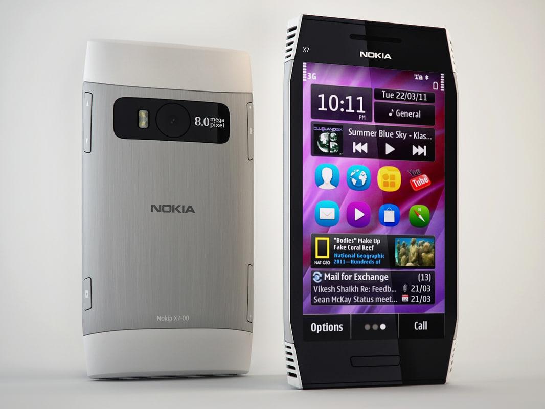 Nokia x7 00 software - Nokia X7 00