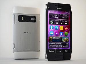 3d model nokia x7-00