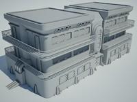 Futuristic Sci Fi Building 7
