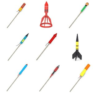 fireworks rockets 3d model