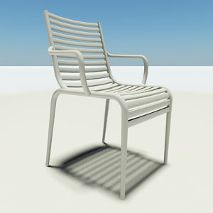 pipe chair philippe starck 3d max