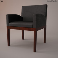 Tao Leather Armchair