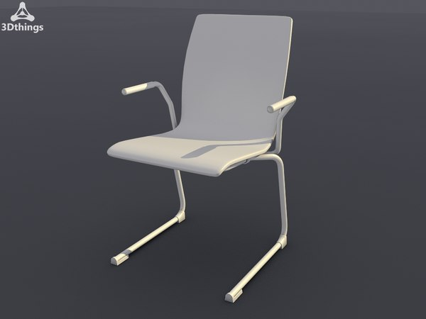 conference chair stage cantilever 3d max