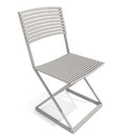 chair patio dock 3d model