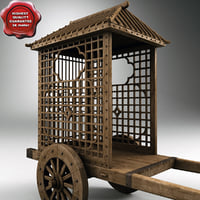 chinese wooden cart max