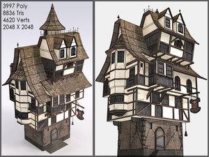 3d max fantasy building