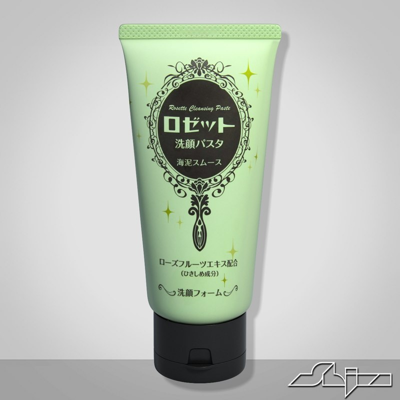3d gel cleanser model