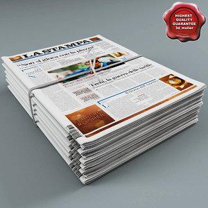 3d newspapers v2