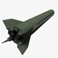 3d model north missile