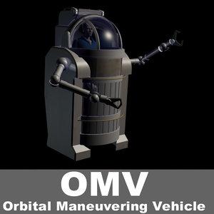 3ds max omv orbital maneuvering