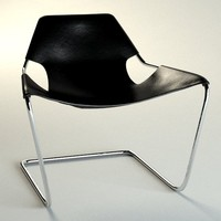 3d model of paulistano chair