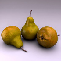 3d model of pear