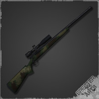 m40a1 sniper rifle 3ds