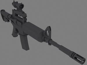 3d swat - m4 carbine