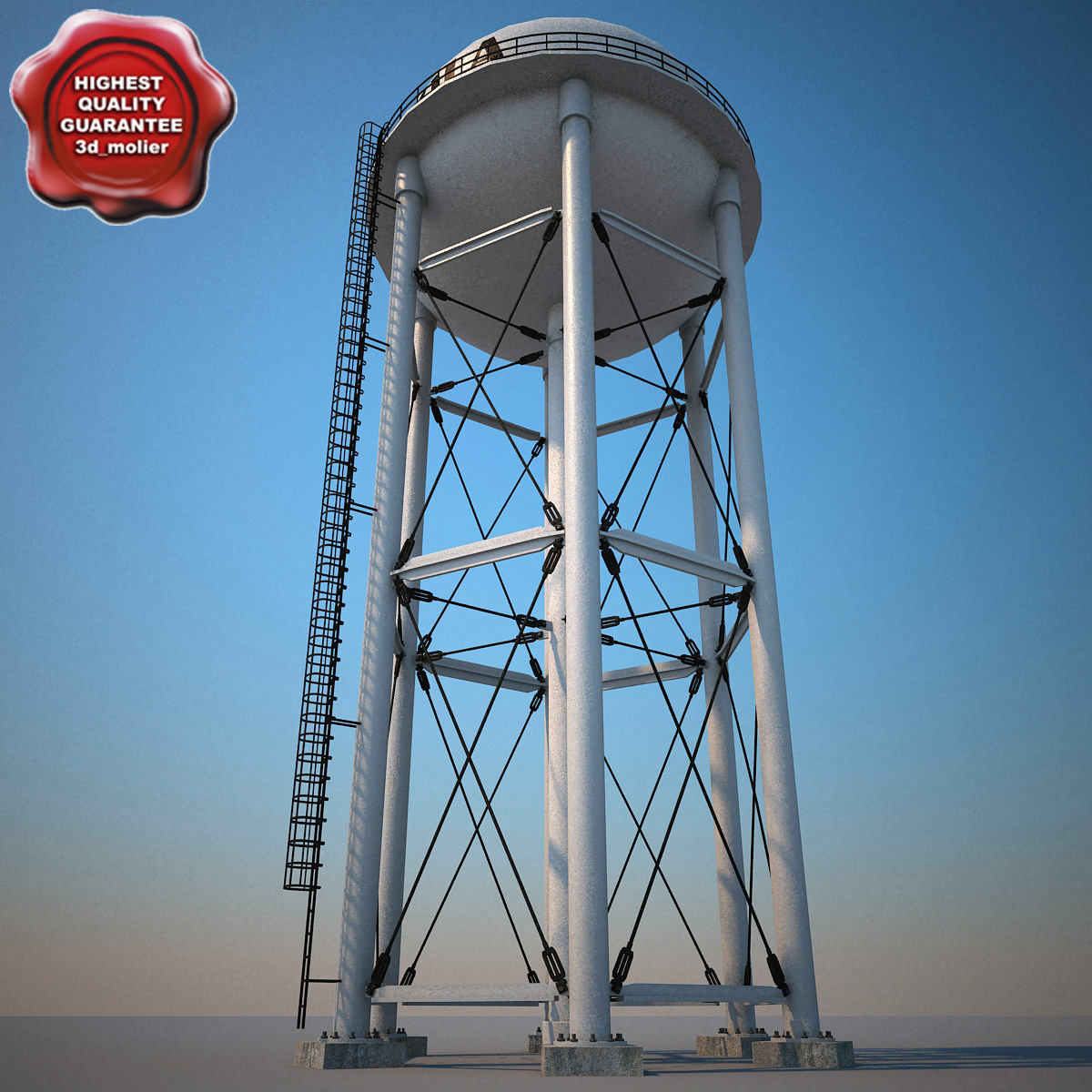 water tower v3 3d lw