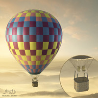 Balloon - hot air 06 (HIGH resolution)