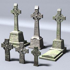 celtic gravestones lwo