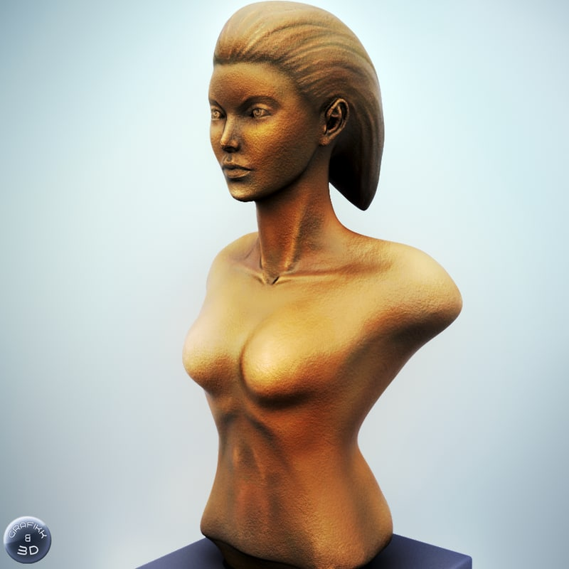 max female bust