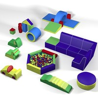 modern contemporary kid children play room little ones  toys toy fun zoo furniture playground