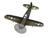 WW2 P-47n Aircraft