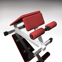 roman chair 3d model