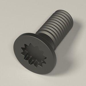 screw 3d 3ds