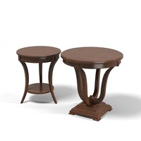 selva classic traditional round side coffee table 3876 3877