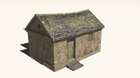 3d building fantasy model