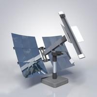 3ds portable solar mount