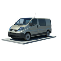 Renault trafic L1H1 double