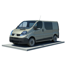 3d renault trafic l1h1 double
