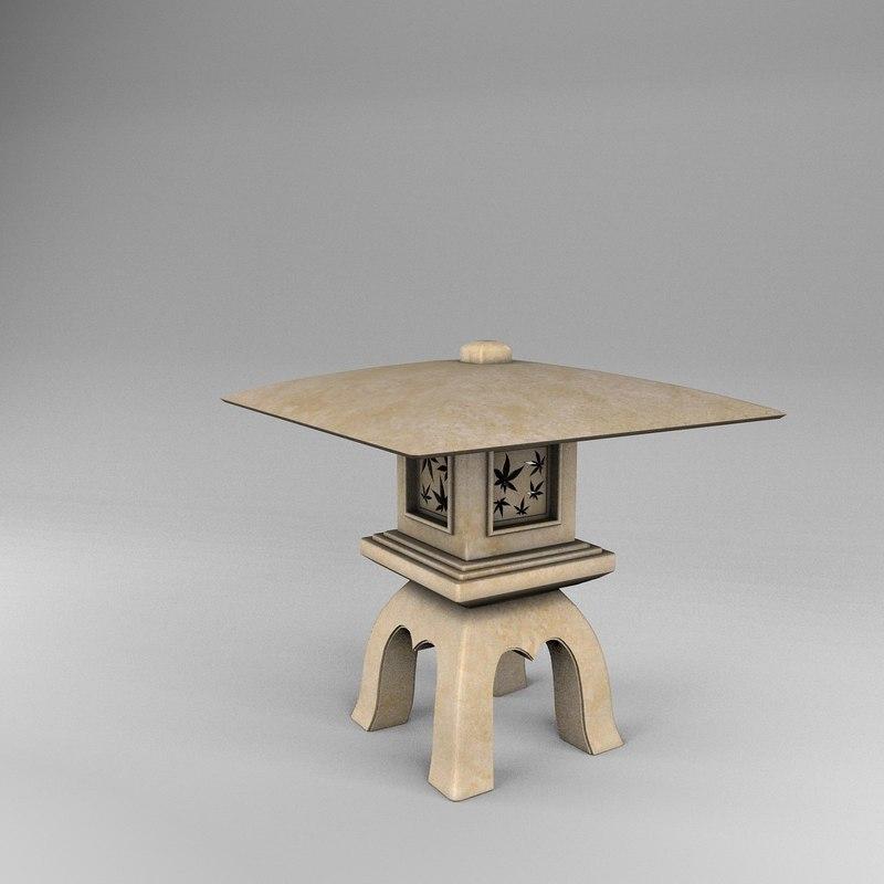 3d lantern yukimi gata