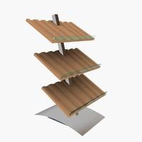 free winerack rack 3d model