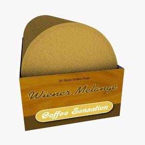 3d box pads coffee