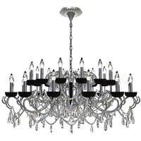 Detailed Beaded Chandelier