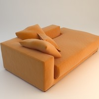 Orange Sofa Daybed