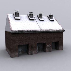 3d russian building 2 model