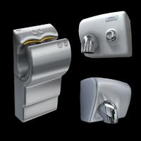 3 Modern hand dryers
