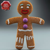 Gingerbread Man Static