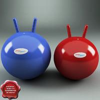 hoppy balls jumpsport obj