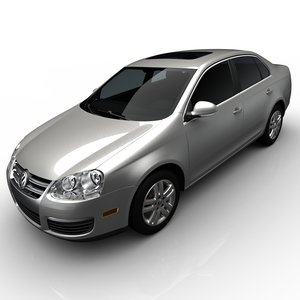volkswagen jetta sedan 3d model