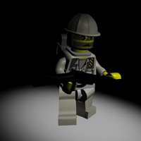 lego soldier 3d model