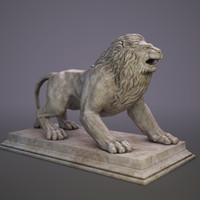 statue lion max