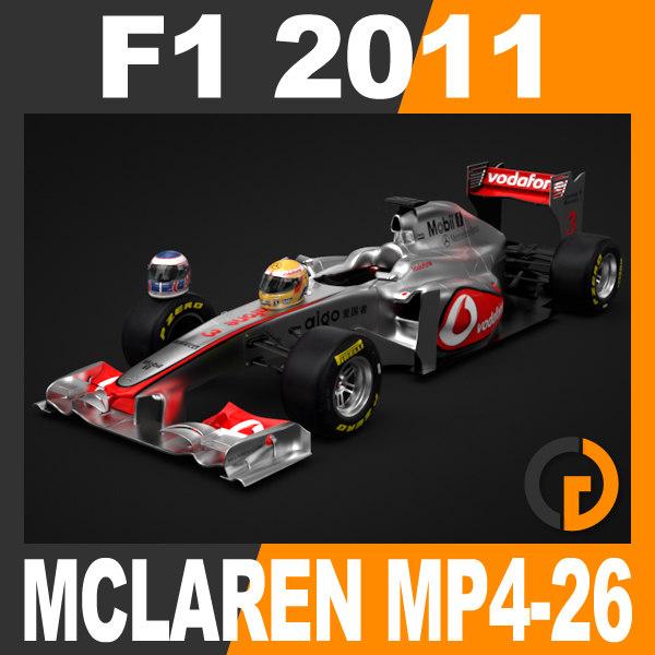 3ds max formula 1 2011 vodafone